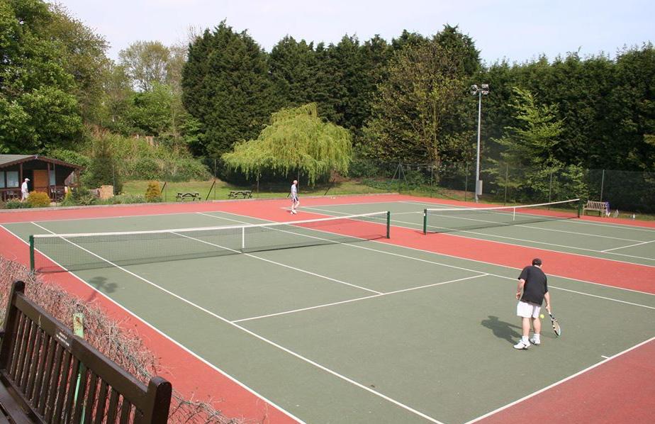 Tennis Doubles Final